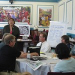 Charrette day with mayor